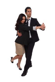 Business Tango Royalty Free Stock Image