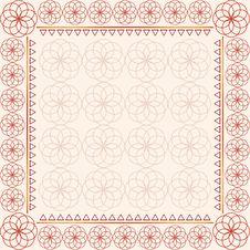 Free Mandala Frame Royalty Free Stock Image - 18811996