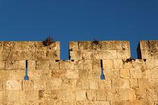 Wall Of Jerusalem Stock Image