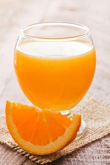 Free Orange Juice Royalty Free Stock Photos - 18812838