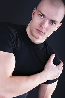 Free Portrait Of Sexy Young Man Stock Photo - 18813060