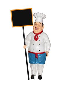 Free Chef Figurine Royalty Free Stock Photo - 18813165