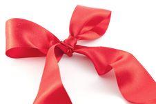 Free Red Ribbon Royalty Free Stock Image - 18813176