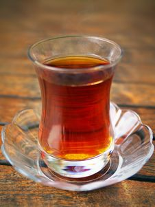 Free Cup Of Turkish Tea Stock Image - 18813321