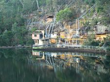 Free Mine On The River Stock Images - 18813424