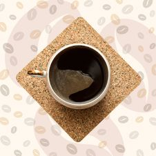 Free Coffee Cup. Royalty Free Stock Photography - 18814017