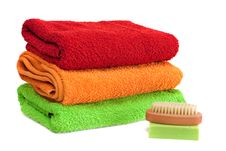 Free Towels. Royalty Free Stock Photo - 18814065