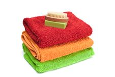 Free Towels. Stock Images - 18814104