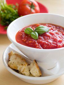 Free Tomato Soup Stock Image - 18814751