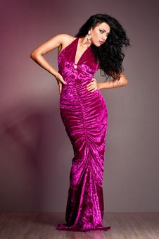 Free Elegant Fashionable Woman Royalty Free Stock Images - 18815189