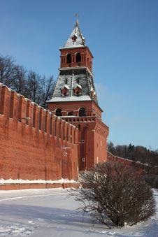 Free Moscow. Kremlin Wall. Blagoveshchenskaya Tower. Stock Photography - 18815492