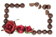Free Rose And Chocolate Royalty Free Stock Photos - 18815708