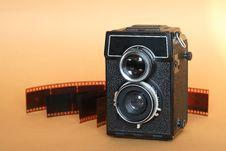 Free Old Camera Royalty Free Stock Photo - 18815725