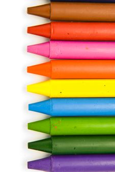 Free Wax Crayons Royalty Free Stock Photo - 18815985