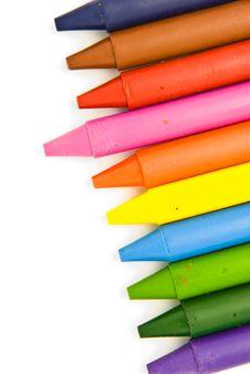 Free Wax Crayons Stock Image - 18815991