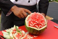 Free Fruit Carving Stock Image - 18817221