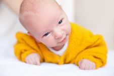 Free Newborn Baby Boy Stock Image - 18817651