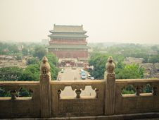 Free Drum Tower Of Beijing Royalty Free Stock Image - 18818316
