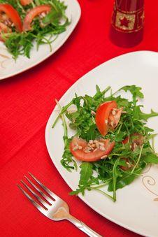 Ruccola Salad Royalty Free Stock Photography