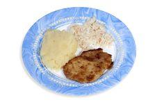 Polish Dinner Stock Photos