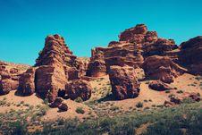 Free Charyn Canyon Royalty Free Stock Photo - 18818555