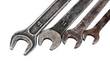 Free Old Rusty Wrench Stock Photography - 18818602