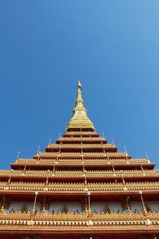 Free A Temple In Khon Kaen, Thailand Royalty Free Stock Photos - 18819658