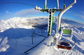 Free Chairlift In The Ski Resort Stock Photos - 18820663
