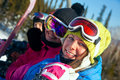 Free Snowboarders On The Chairlift Stock Photo - 18824620