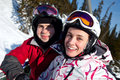 Free Snowboarders On The Chairlift Stock Photography - 18824662