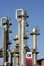Free Oil Towers And Industry Royalty Free Stock Photos - 18829428