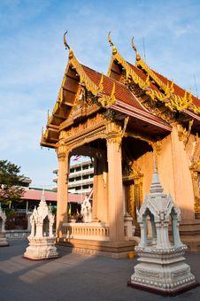 Free Architecture Thai Art Style Royalty Free Stock Photos - 18820548