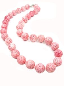 Free Pink Coral Beads Jewellery Stock Image - 18820621