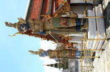 Free Thai Demons Royalty Free Stock Image - 18820756