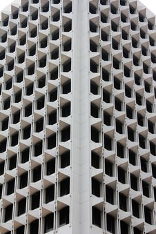 Skyscraper Balconies And Windows - Abstract Photo Royalty Free Stock Photos