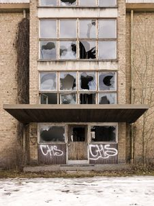 Free Worn Building Stock Images - 18821094