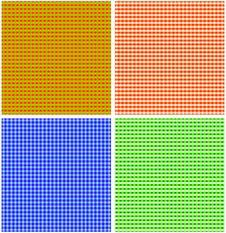 Seamless Textured Plaid Pattern Royalty Free Stock Photos