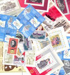Free DDR Postal Stamps  German Democratic Republic Royalty Free Stock Image - 18821776