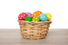 Free Colorful Easter Eggs Painted Royalty Free Stock Photo - 18822115