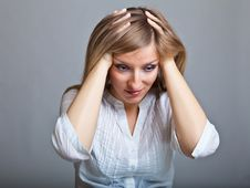 Free Depressed Woman Stock Photography - 18822442
