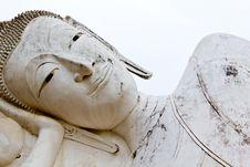 Reclining Of Buddha Royalty Free Stock Photo