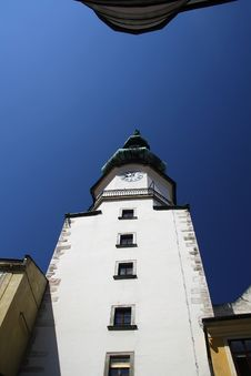 Free Michael Tower In Bratislava Royalty Free Stock Photography - 18822807