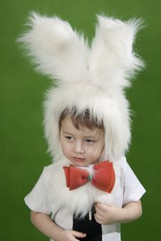 Free Bunny Boy Stock Photo - 18823570