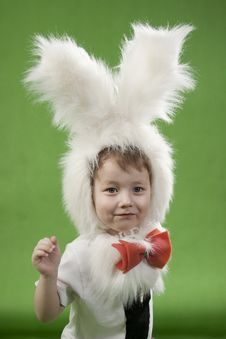 Free Bunny Boy Royalty Free Stock Photo - 18823725