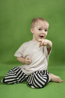 Free Lovely Little Boy Royalty Free Stock Photo - 18823785