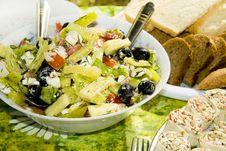 Free Fresh Salad Royalty Free Stock Image - 18824206