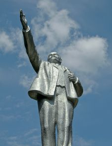 Free Lenin In The Sky Royalty Free Stock Photo - 18824245