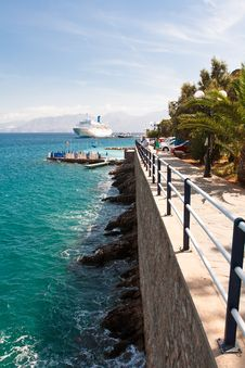 Free Embankment Agios Nikolaos, Crete, Greece Stock Photos - 18825073