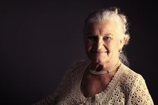 Free Older Woman Stock Photography - 18825142