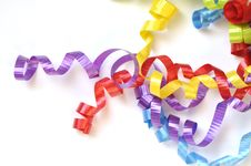 Free Colorful Ribbons Royalty Free Stock Images - 18825209